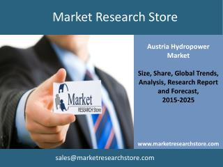 Hydropower in Austria Market Outlook 2025