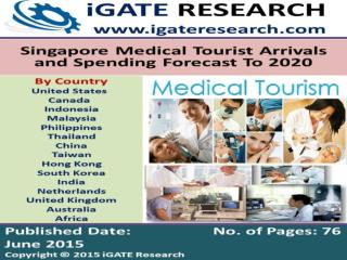 Singapore Medical Tourist Arrivals and Spending Forecast To