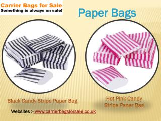 Advantages of Shopping Paper Bags