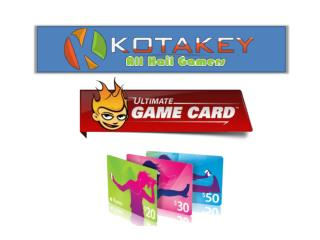 WOW, XBOX Live & Other Pre-Paid Cards Online at Kotakey.com