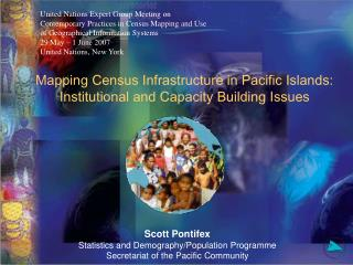 Mapping Census Infrastructure in Pacific Islands:  Institutional and Capacity Building Issues