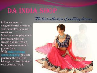 Indian Lehenga Online Shopping