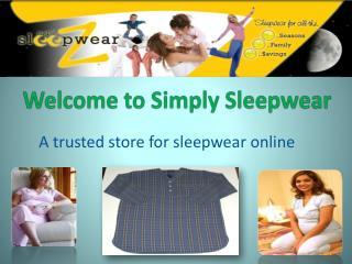 Kids Sleepwear Online in Australia - SimplySleepwear