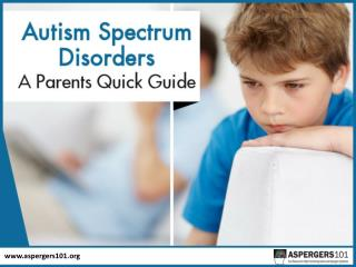 Autism Spectrum Disorder – Things You Should Know!
