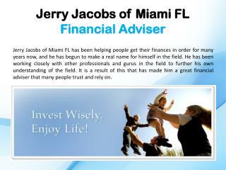 Jerry Jacobs of Miami FL_Financial Adviser
