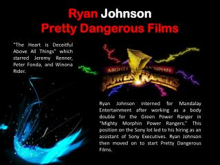 Ryan Johnson_ Mighty Morphin Power Rangers