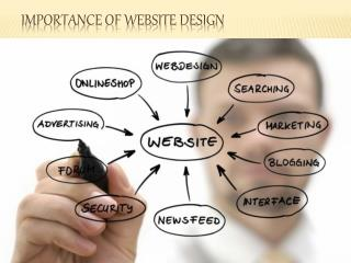 Importance of website design