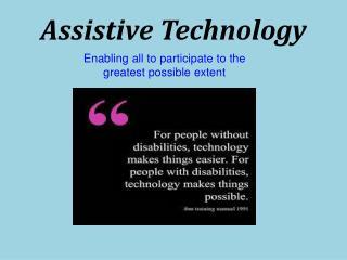 Assistive Technology-Bazel