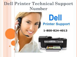Dell Printer Customer Support Phone Number $ 1-800-824-4013