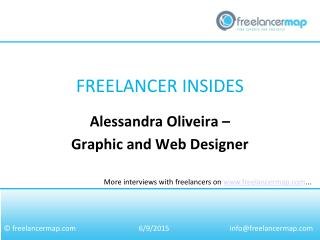 Alessandra Oliveira - Graphic and Web Designer