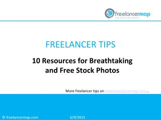 10 Resources for Breathtaking and Free Stock Photos