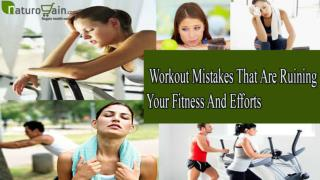 Serious And Known Post Workout Mistakes that are unsafe