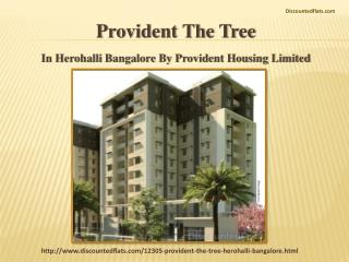 Buy the flats in Provident The Tree at lowest prices