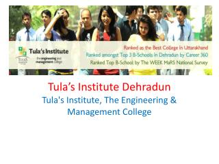 Tula's Engg & management Institute