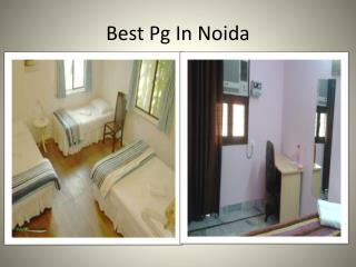 best pg in noida