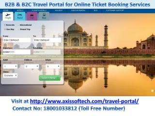 Portal for Travel Agency, B2B Travel Agents Portal