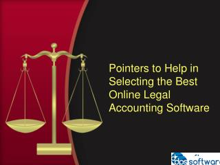 Best Online Legal Accounting Software