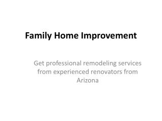 Get professional remodeling services from experienced renova