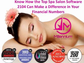Turn Your Business Around with the 2014 Award Winning Spa Sa