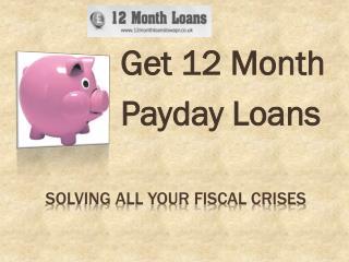 Text loans @ http://www.12monthloanslowapr.co.uk/ UK