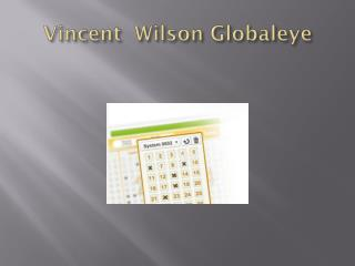 Vincent  Wilson Globaleye Success life