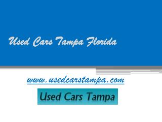 Used Cars Tampa Florida - www.usedcarstampa.com