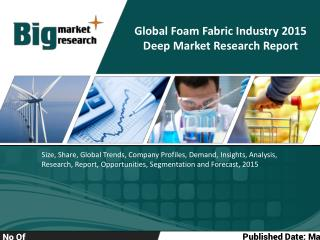 Global Foam Fabric Industry 2015 Deep Market Research Report