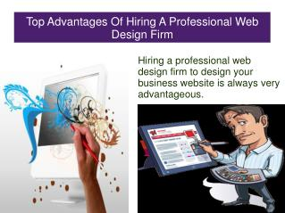 Top Advantages Of Hiring A Professional Web Design Firms