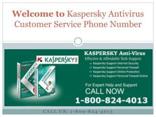 (1-800-824-4013) Kaspersky Antivirus Tech Support help Numbe