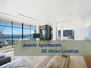Avante Apartments -  All About Location