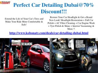 Car Detailing Dubai @ Best Offer