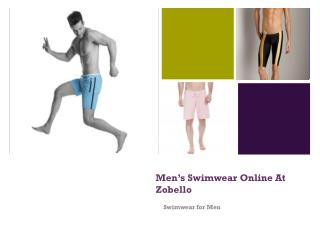 Mens Swimwear Online at Zobello