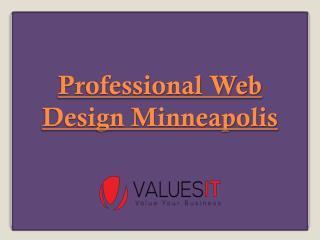 Professional Web Design Minneapolis