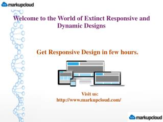 Convert PSD to HTML With Responsive Design Service