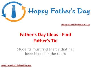 Father's Day Ideas - Find Father's Tie
