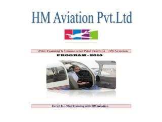 Pilot training,Commercial pilot Training - HM Aviation