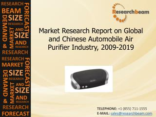 Automobile Air Purifier Industry Growth, Forecast 2009-2019