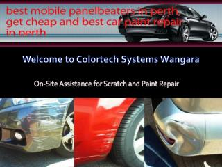 Car Scratch Repair Perth