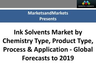 Ink Solvents Market worth $1,062.46 Million by 2019