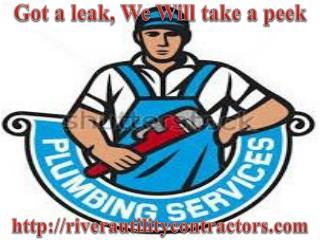 Utilities Contractor, Commercial Plumbing, Water Heater and