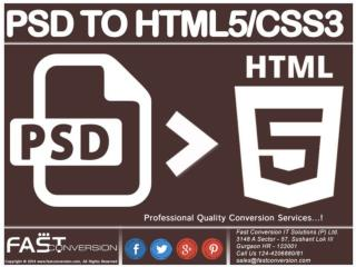 PSD to HTML5/CSS3 – Web Design Conversion Service Psd to htm