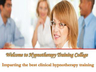 Clinical Hypnotherapy Course in Australia