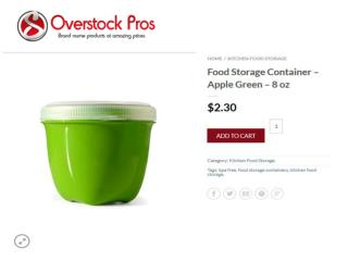 Kitchen Food Storage Online- Overstock Pros
