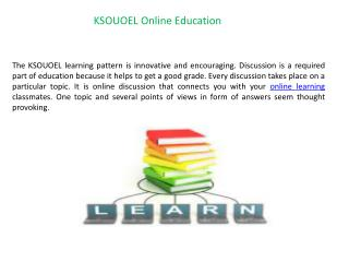 KSOUOEL Online Education