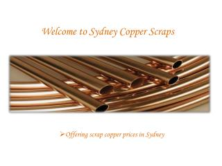 scrap copper prices australia - Sydney copper scraps