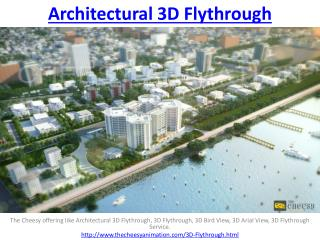 Architectural 3D Flythrough