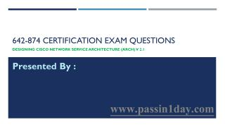 Cisco CCDP 642-874 Exam Questions Pack