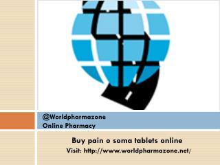 Pain O Soma Tablets
