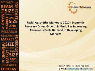 Facial Aesthetics Market to 2020 - Economic Recovery Drives