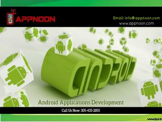 Custom Android Apps Development